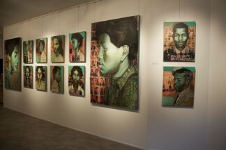 The Freedom Riders 1961: Celebrating the 55th Anniversary of an Economic Movement, installation view