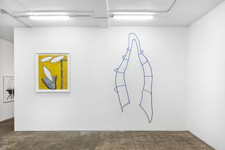 Material Catch, installation view