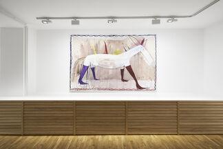 Matthias Dornfeld, Cinzano, installation view