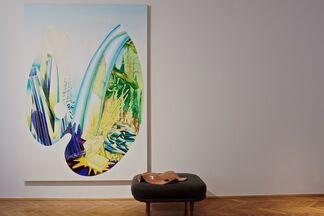 Susanne Kühn. Palette, installation view