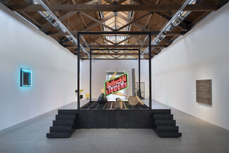 Theaster Gates: Every Square Needs a Circle, installation view