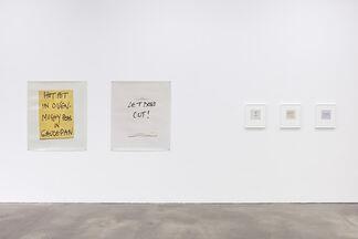 Keith Arnatt, installation view
