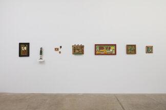 Elijah Pierce and Leroy Almon, installation view