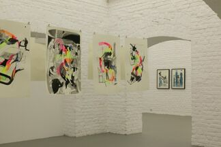 Into The Middle Of Things, installation view