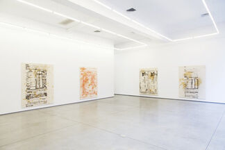 "David Ratcliff - ""Klan Paintings"", installation view"