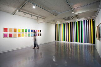 color study, installation view