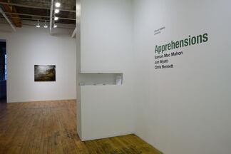 Apprehensions: Eamon Mac Mahon, Jon Wyatt, Chris Bennett, installation view
