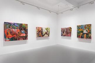 Gisela McDaniel: Making WAY/FARING Well, installation view