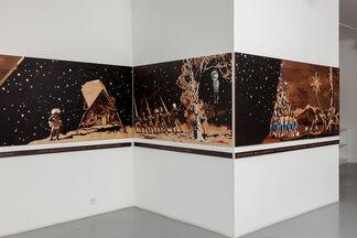Andrea Mastrovito // Le jardin des histoires du monde, installation view