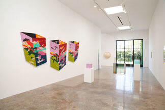 Surface to Air:  Los Angeles Artists of the '60s and the Materials that they used, Curated by Robert Dean, installation view