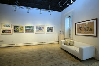 WORKS ON PAPER 2020, installation view