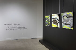 Isla Burns : Tempered Steel and Frances Thomas: In Pursuit: Contemporary Abstraction and Persuasion, installation view
