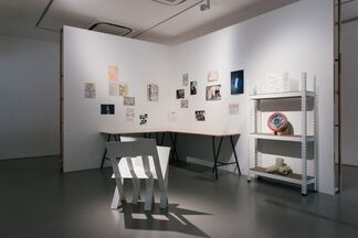 Dog and Butterfly, installation view