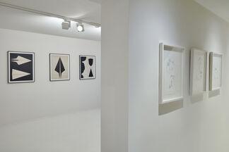 Traces Ecrites, installation view