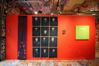 Interweave: Fabric Works by Folk Artists & Isaiah Zagar, installation view