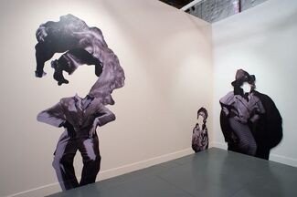 Klowden Mann at Paris Photo Los Angeles 2015, installation view