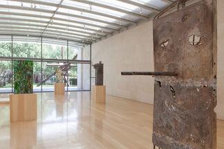 Mark Grotjahn Sculpture, installation view