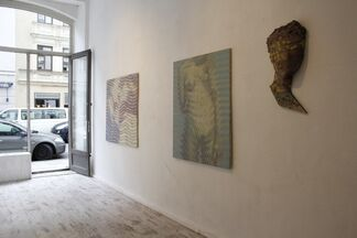 `Identität` Reinhard Voss & Andreas Lau, installation view