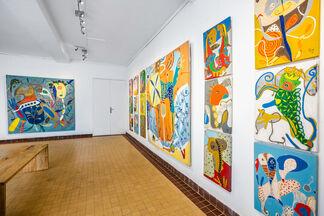Humaniste, installation view