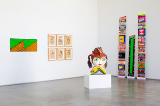 KNOCK! KNOCK!, installation view