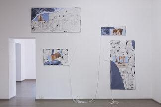 DER CHAMPAGNERKÄFIG, installation view