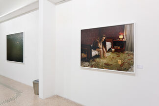 BEHIND THE VISIBLE, installation view