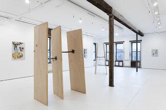 AUBRY / BROQUARD — SUNNY SIDE DOWN, installation view