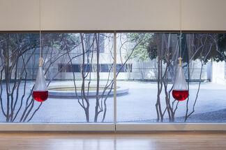 Between Action and the Unknown: The Art of Kazuo Shiraga and Sadamasa Motonaga, installation view