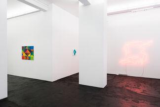 «To Sophie, Sonia, Elsa, Hannah...»    Judy Ledgerwood   Kyung-Lim Lee   Harriet Korman   Brigitte Kowanz   Clare Goodwin, installation view