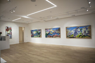 OLEKSANDR BABAK NEW PAINTINGS, installation view