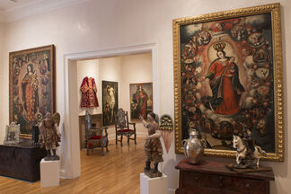 23rd Annual Art of Devotion: Historic Art of the Americas, installation view