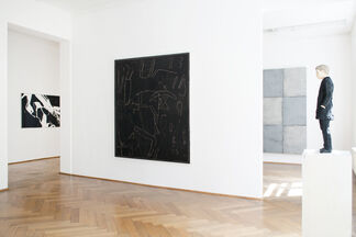 JUST BLACK AND WHITE, installation view