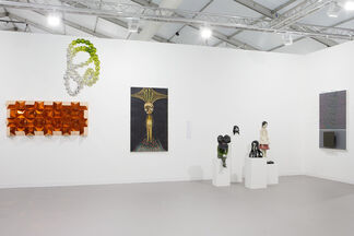 Galerie Perrotin at Frieze London 2014, installation view