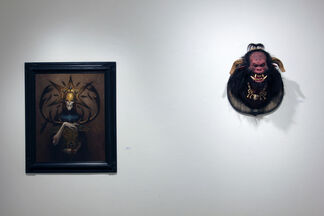 infra:REAL - curated by Patrick Wilshire, installation view