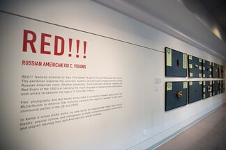 RED !!! Russian - American XXI c. Visions, installation view