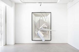 Edgar Leciejewski / Oskar Rink – DEN GANZEN TAG AM STRAND, installation view
