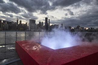 Mika Tajima: Meridian (Gold), installation view