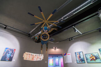 Chech (stream). Individual articulations, installation view