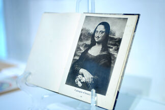 Mona Lisa Unveiled at the Freedom Tower, installation view