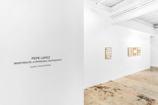 Root/Route: A Personal  Cartography, installation view
