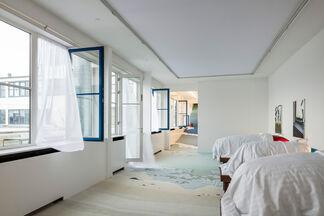 John Kørner - Blue Bedroom, installation view