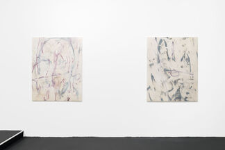 XOOOOX: abstract paintings - on off on on, installation view