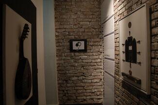 Black Board, installation view