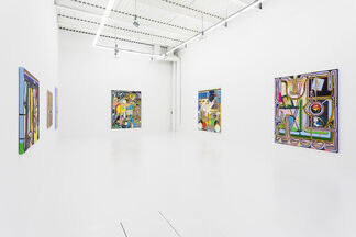 """Eric Shaw """"Trails"""", installation view"""
