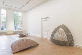 Tightrope: Concave Triangles, installation view