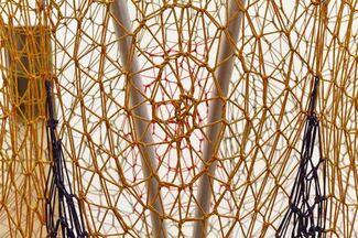 Ernesto Neto: Cuddle on the Tightrope, installation view