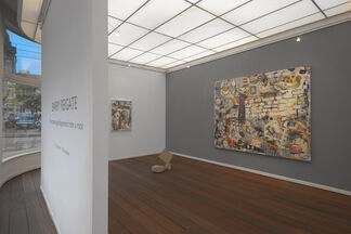 """Barry Reigate """"One Cannot Get Fingerprints From A Rock"""", installation view"""