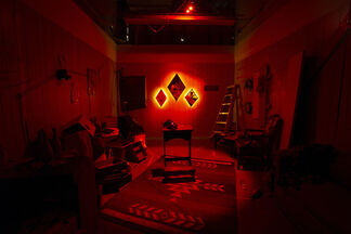 Delano Dunn | Dreams of Fire and Starshine, installation view