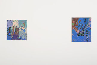Kristina Lee: A Solo Project of 14 Paintings, installation view