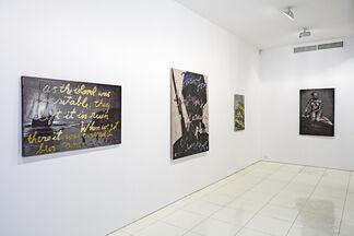 Rene Ricard Paintings, installation view